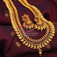kempu earrings indian traditional mango design temple kempu stones necklace