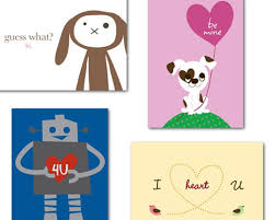 kids valentines day cards tiny prints delivery recycled s day cards inhabitots