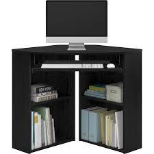 mainstays corner desk black walmart com