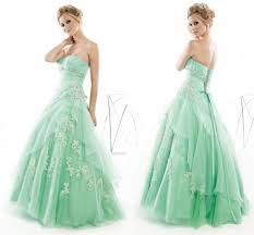 glamorous prom dresses junior mint green organza sweetheart