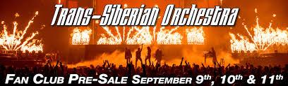 trans siberian orchestra fan club trans siberian orchestra news 2015 fan club pre sale