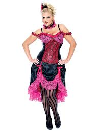 madame can can dancer plus size costume wholesale saloon