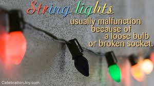 how to fix broken christmas lights how to fix a string of christmas lights