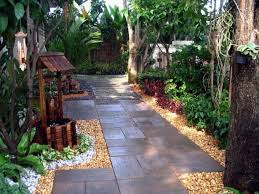 very small backyard