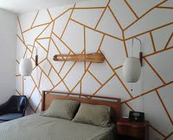 geometric wood wall wall ideas design colorful unique geometric wall