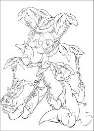 the land before time coloring pages