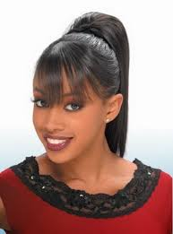 ponytail hairstyles for black hair with weave women medium haircut