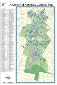 uky map of kentucky cus map kentucky usa mappery
