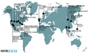 Ireland Location In World Map by Where Websites Live Best Web Hosting