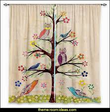 Curtains Birds Theme Decorating Theme Bedrooms Maries Manor Owl Theme Bedroom