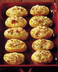 recette cuisine pour le soir food inspiration pommes de terre farcies au mascarpone pour 4