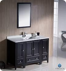 54 Bathroom Vanity Fresca Oxford 54 Traditional Bathroom Vanity Espresso Finish Two