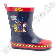 paw patrol rain boots kids wholesale textiel trade