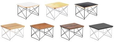 eames wire base low table vitra occasional table ltr