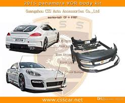 porsche panamera bodykit 2017 for porsche panamera 970 car change to vorsteiner style
