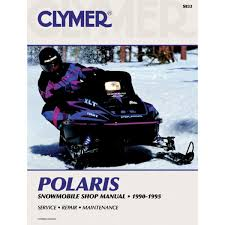 amazon com clymer polaris snowmobile 1990 1995 manufacturer
