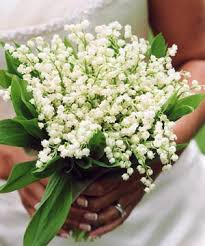 lilly of the valley bouquet weddingbee