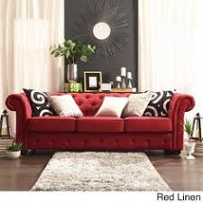 red and grey color scheme for living room modern design