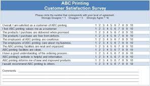 customer surveys templates spot survey on housing allowance