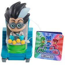 pj masks romeo lab racer mini vehcile wheelie villain ebay
