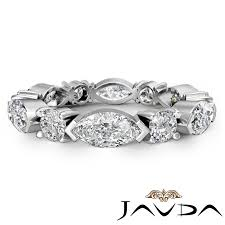 Ebay Wedding Rings by Women Classic Eternity Wedding Band Marquise Round Diamond Ring