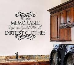 Laundry Room Vinyl Wall Decal Wall Quote by openheartcreations