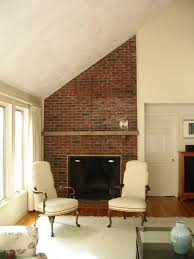 apply bead board and mantle to a brick fireplace a concord carpenter