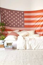 bedroom ideas large american flag tapestry home decor