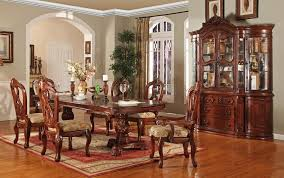 wood dining room sets victorian dining room gordon victorian formal dining table set