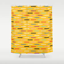 dashes shower curtains society6