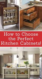 kitchen cabinet design tips 6 tips for choosing the kitchen cabinets