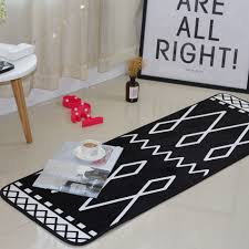 Black Striped Rug Online Buy Wholesale Striped Rug Black And White From China