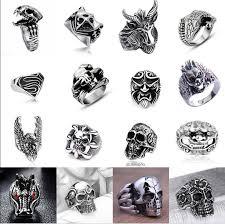 cool rings for men mens skull rings ebay
