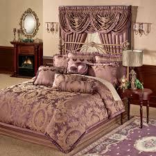 Maroon Comforter Josephine Floral Medallion Comforter Bedding