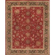home decorators area rugs home decorators collection casa red 7 ft x 10 ft indoor area rug