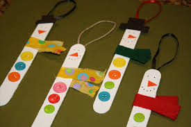 picture of child handmade christmas ornaments all can download
