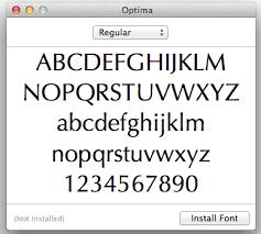 mac basics font book apple support
