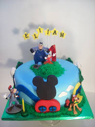 mickey clubhouse cake auckland 250 figurines bought from a
