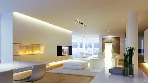 decorations stunning living room with modern fireplace also