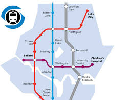light rail map seattle my ballard ballard spur teams up with seattle subway