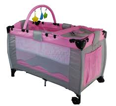 travel bed for baby images New pink portable child baby travel cot bed bassinet travel jpg