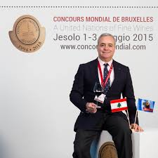 lebanese wine the elie maamari juryleden concours mondial de bruxelles