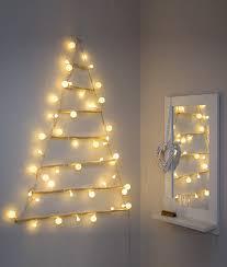 Modern Christmas Trees Wall Mounted Modern Christmas Tree Silhouette