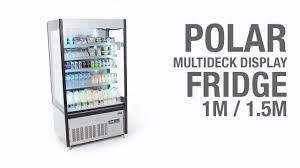 Nisbets by Polar Multideck Display Fridge 1m And 1 5m Gh268 U0026 Gh269 Youtube