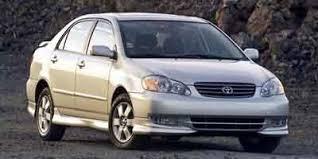 03 toyota corolla mpg 2003 toyota corolla sedan 4d s specs and performance engine mpg