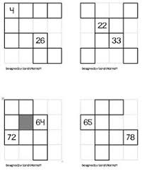 math hundreds chart here s a set of 4 different hundred board puzzles for students to