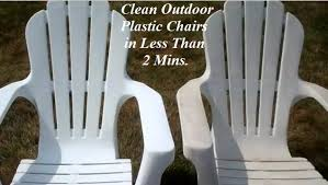 Patio Plastic Chairs by Clean Your Outdoor Plastic Patio Furniture In Less Than 2 Minutes
