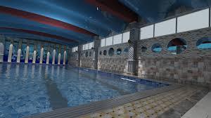 Indoor Pool Indoor Pool For 3d Model Cgtrader