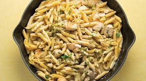simple one skillet chicken alfredo pasta the splendid table