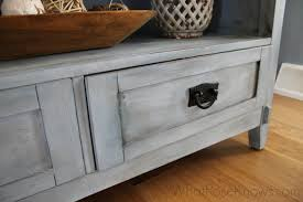 aging cream finish over chalk paint what rose knows